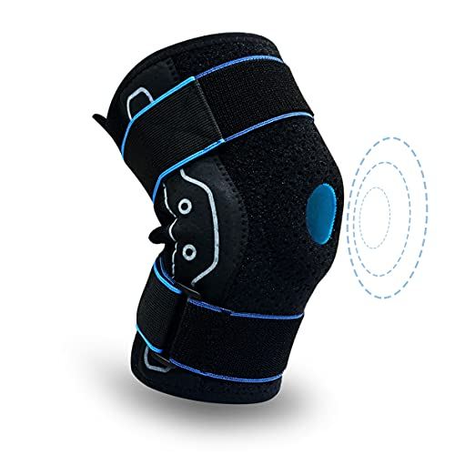 Knee Braces for Knee Pain and Meniscus Tearwith Side Stabilizers,Comfortable Knee Support for Men and Women