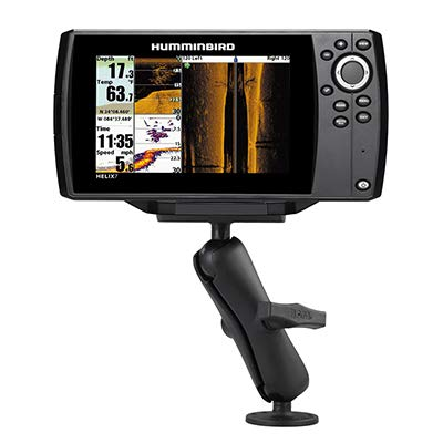 RAM Drill-Down Double Ball Mount for Humminbird Helix 7
