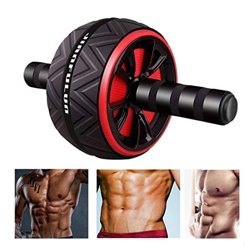 Vohawsa Ab Roller for Abs Workout, Abdominal Exercise Ab Wheel, Home Gym Workout Exercise Equipment for Men Women Boxing Fitness Training (Black)