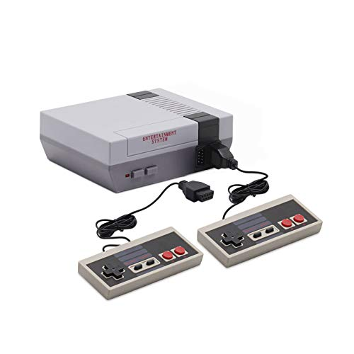620 Retro Game Console Mini Classic Game System with 2 NES Classic Controller and Built-in 620...
