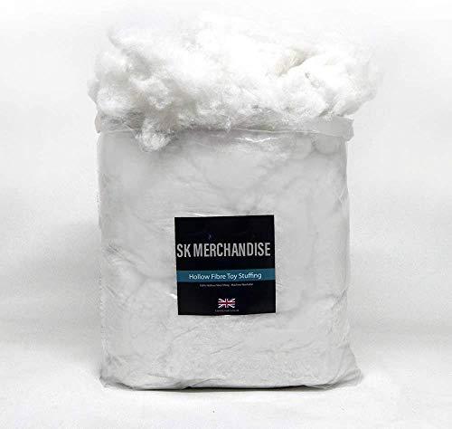 SK MERCHANDISE High Grade - 4 Kilo kg - Hollow Fibre Stuffing/Filling/Fill Toys, Pillows, Cushion Covers
