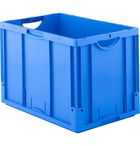 SSI Schäfer Euro Box Serie LTB 6420, ohne Deckel, 82,3 L, blau