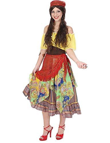 Ladies Gypsy Fortune Teller Fair Circus Festival Halloween Costume Small