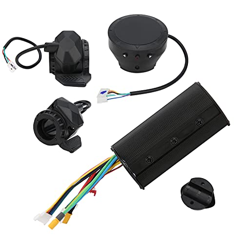 Shipenophy Durable robusto resistente al desgaste E‑Scooter Controlador Digital Display Pulgar Freno del acelerador para montar en pista (36V)