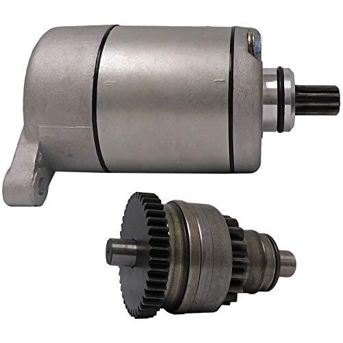 New Starter And Drive Combo Kit Replacement For Polaris ATV UTV 325 330 335 425 500 Sportsman Scrambler Magnum Trail Boss Ranger 113528 18645 495713 3084981 3090188