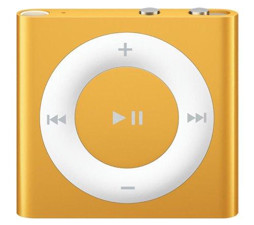 IPOD APPLE SHUFFLE 2GB ORANGE MC749BT/APULSANTI E VOICEOVER - CLIP INTEGRATA