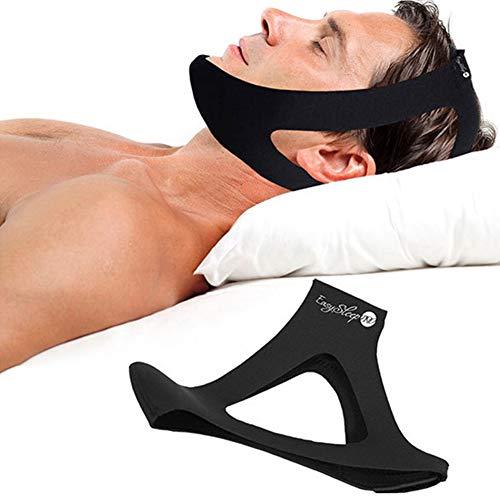 WLXW Anti-Schnarch-Kinnriemen, Komfortabler und Natürlicher Schnarchstoppgürtel, Die Effektivste Anti-Schnarch-Ausrüstung Gegen Schnarchen und Schlafmittel