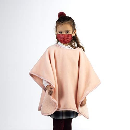 PIELSA | Cole manta Colegio | Cole manta Niños | Manta para Clase | Manta Cole Hipoalergénica para Niños | Color Rosa | Tamaño 80x110