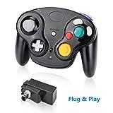 Controlador inalámbrico Laelr para Nintendo Switch Gamecube Controlador de gamepad Vibración de doble motor Mini control remoto Controlador NGC Pro Joypad Joystick Compatible con consola de juegos Wii