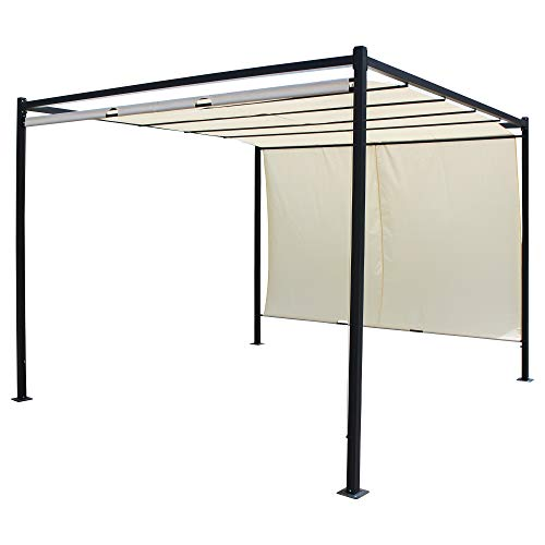 URBNLIVING Large Outdoor Pop Up Gazebo Metal Frame Party Tent For Special Party Occasions