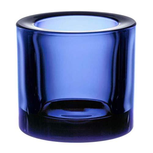 Iittala 1021057 Kivi Teelichthalter ultramarin blau 60mm