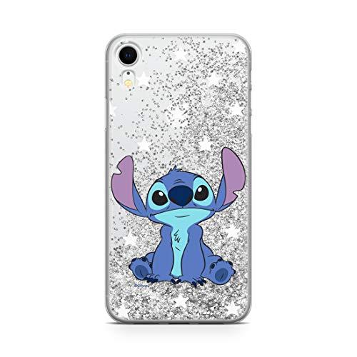 ERT GROUP Original Disney Lilo and Stitch TPU Case for iPhone XR, Liquid...