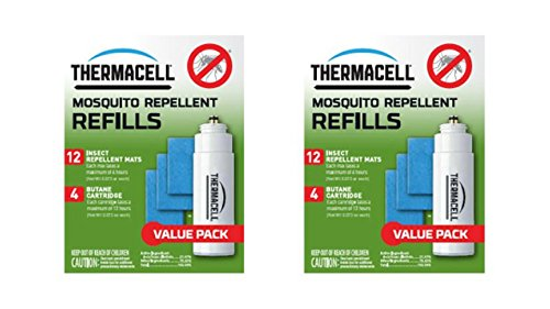 Thermacell Compatible Mosquito Repellent Refill Value Pack Set of 2, Bundle