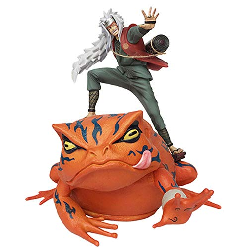 Action Figure Naruto Jiraiya Gama Sennin Personaggio Animato Model Decoration Statue 29cm