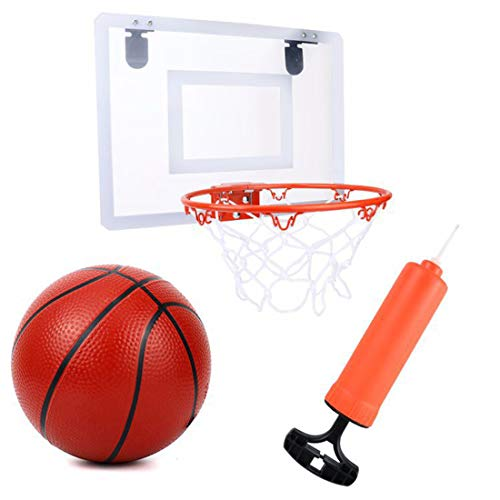 Kinder Mini Basketball St/änder Set Hoop Backboard Spiel Sporttraining Spielzeug Indoor Outdoor Doublele/Einstellbare Basketballkorb