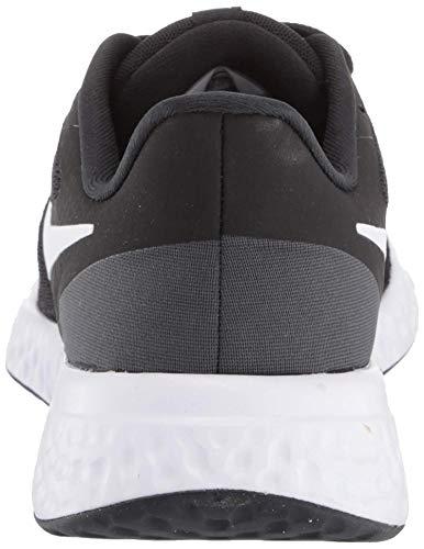 Nike Revolution 5, Zapatillas de Correr Unisex Adulto, Negro (Black White Anthracite), 36 EU