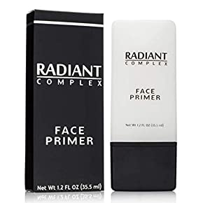 Radiant Complex Face Primer – Flawless Base for Foundation and Makeup -1.2 Fl Oz