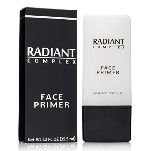 Best Makeup Base: Radiant Complex Face Primer and Pore Minimizer Transforms Your Skin into a Smooth Matte Canvas for Applying Foundation and Make Up, Hiding Fine Lines, Blemishes and Wrinkles - 2 OZ