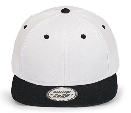 4sold ABC Red Black Cap Snapback Gorra de béisbol Cierre de...