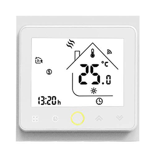 WiFi Termostato Inteligente Controlador De Temperatura Inteligente,Vida Tuya App Control Remoto para Calefacción De Caldera Gas De Agua,Compatible con Alexa De Google