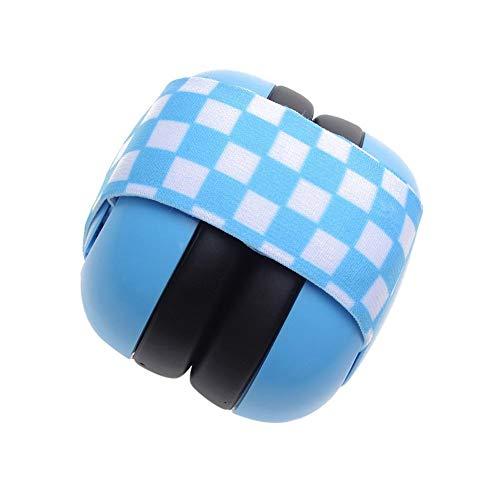 Baby gehoorbescherming - oorbeschermers kinderen geluidsbescherming koptelefoon oorbescherming voor 0-2 jaar - 30DB geluidsbescherming blauw