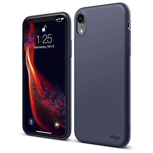 elago Capa de celular da série Slim Fit para iPhone XR (2018), acabamento fosco, suporta carregamento sem fio, Todo coberto, com proteção contra arranhões e quedas, de uso diário