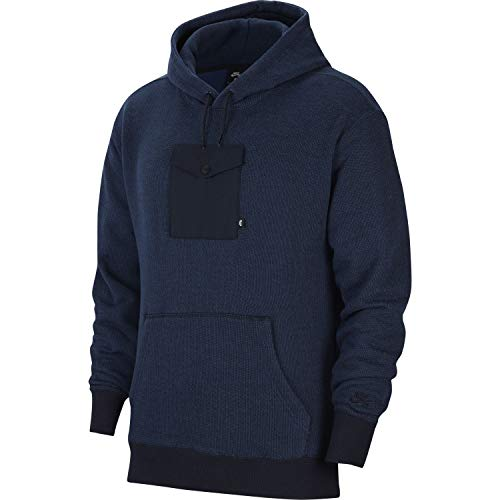 Nike SB Novelty - Sudadera con capucha para hombre Negro M