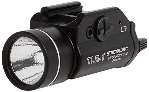 Streamlight 69110 TLR1 Weapon Mount Tactical Flashlight Light  300 LumensBlack