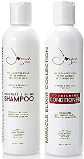Miracle Elixir Moisture & Shine Shampoo and the Nourishing Conditioner, together!