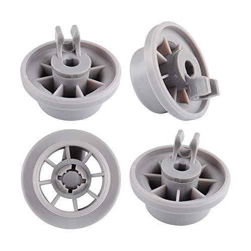 Grundig Lot de 4 roulettes pour panier inférieur de lave-vaisselle