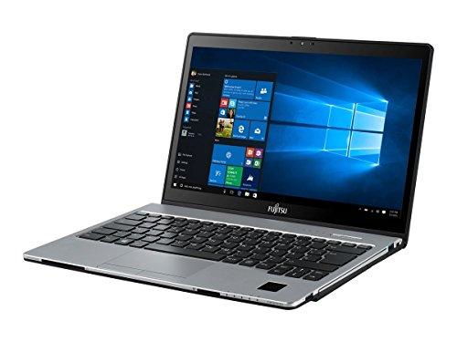 Fujitsu LIFEBOOK S936 VFY:S9360M87APDE 33,8 cm (13,3 Zoll) Laptop (Intel Core i7 6600U, 20GB RAM, 512GB SSD, Win 10 Home Touchscreen) silber/schwarz