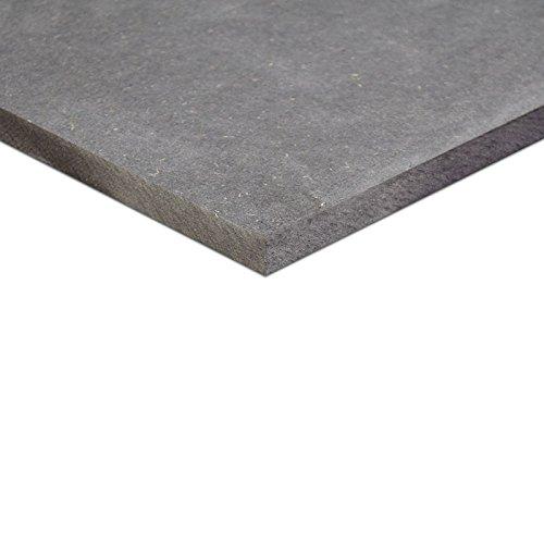 19mm MDF schwarz durchgefärbt Platte 84x60 cm (A1)