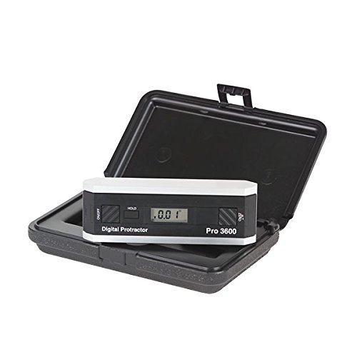 Smart-Tool 09429598 Pro 3600 Digital Protractor, -0.05 Degree Accuracy, RS-232C