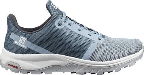 Salomon Damen Outbound Prism Track and Field Shoe, Hellblau (Ashley Blue/Copen Blue/Pearl Blue), 42