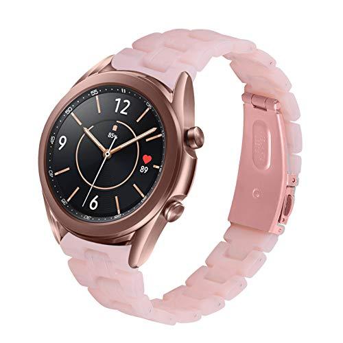TopTen Ersatz-Armband für Samsung Galaxy Watch 3 41 mm, Galaxy Watch 42 mm Smartwatch (F), 20 mm