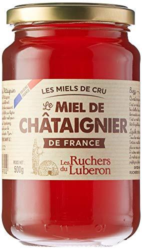 Les Ruchers du Luberon Miel de Châtaignier de France 500 g