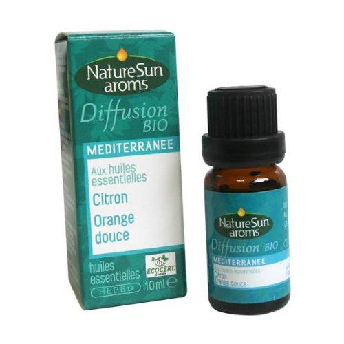 Naturesun aroms - Mélange Diffusion Méditerranée - Flacon 10 ml