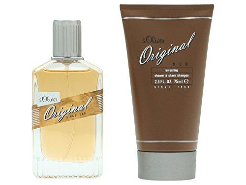 S.Oliver Original Set Homme/Men, Eau De Toilette, Duschgel, 1er Pack (1 x 105 ml)