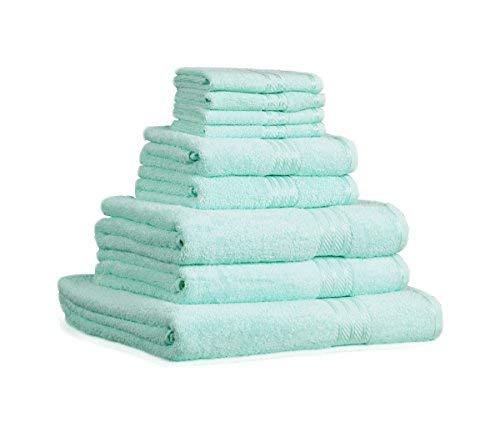 restmor Knightsbridge Juego de 9 Toallas 100% algodón