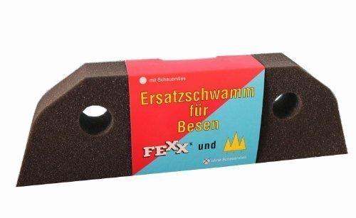Ersatzschwamm 1-Komponente für Besen Schaumstoffbesen (2 Stück)