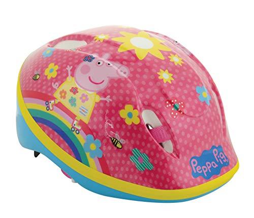 Peppa Pig Mädchen Safety Helmet Sicherheitshelm, Mehrfarbig, 48-54 cm
