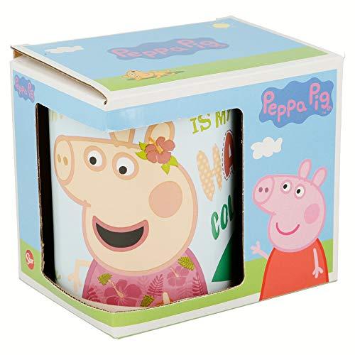 TAZA CERAMICA 325 ML CON CAJA | PEPPA PIG PINK FLAMINGO