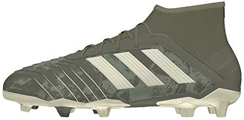 adidas Predator 19.1 FG J, Botas de fútbol, Verleg/Arena/Amasol, 38 EU ✅