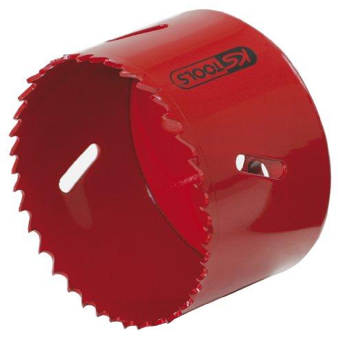KS Tools 129.5083 Corona perforadora de bimetal de HSS (Ø 83 mm),...