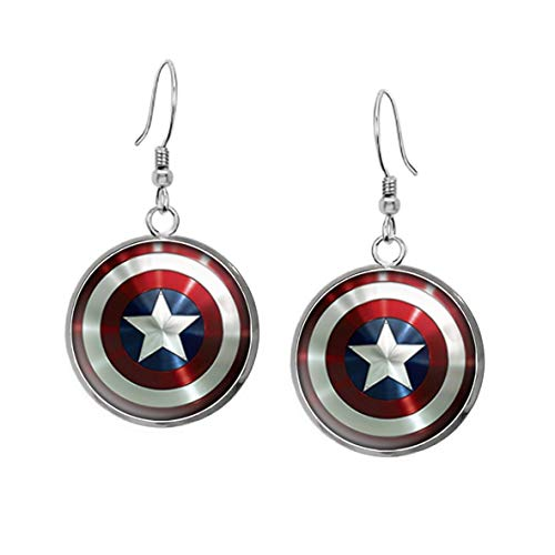 Wearable Treasures Captain America Necklace