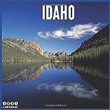 Idaho 2021 Calendar: Official Mountainous Landscapes Wall Calendar 2021, 18 Months