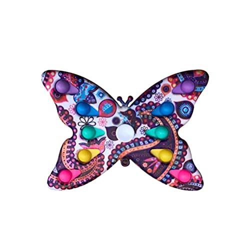 Lewpox Juguetes De Juguete, Juguetes De Hilado De Dedos De Mariposa, Eliminación De Estrés, Creativo, Hilado De Animales, para Niños, Adulto, Autismo