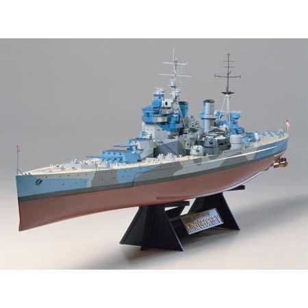 TAMIYA 300078010 - 1:350 WWII Britische Kampfschiffe King George V