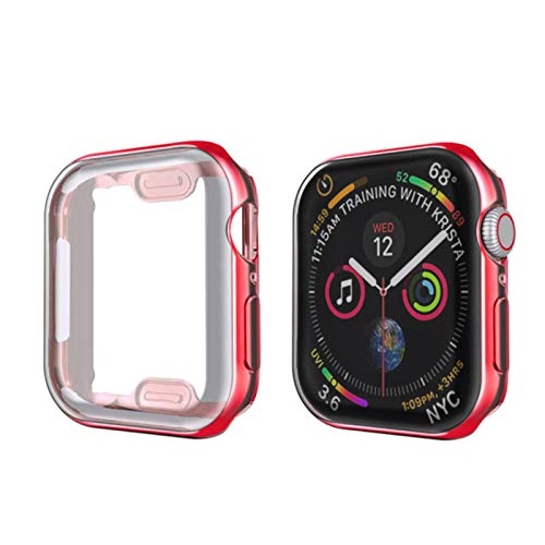 Funda para Apple Watch band 44mm / 40mm   42mm / 38mm iwatch protector de pantalla parachoques protector apple watch series 5 4 3 44 mm