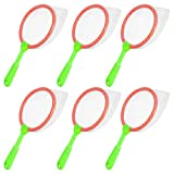 Tomaibaby 6PCS Kids Fish Catching Tool, Multifunctional Plastic Kids Bug Catcher Nets Fish Butterflies Nets Collecting Net Toys for Kids Outdoor Playing (Random Color)